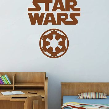 ik2721 Wall Decal Sticker STAR WARS Galactic Empire Living children's room