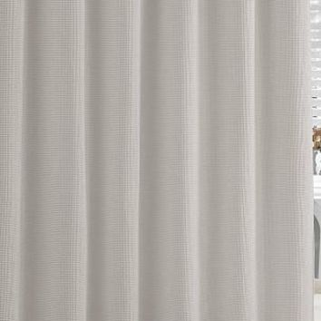 Hotel Shower Curtain  Grey