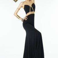 B'Dazzle Black Fitted Dress 35818