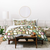 Ingrid Padilla Cells Duvet Cover