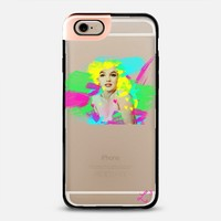 Marilyn Monroe Brushstroke Art iPhone 6 case by Love Lunch Liftoff | Casetify