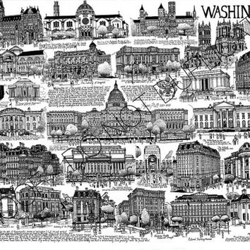 Washington DC Cityscape Print
