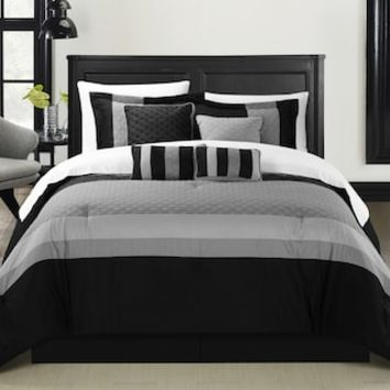 Chic Home Diamante 8-piece Bed Set | null