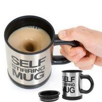 High Quality Automatic Coffee Mixing Cup / Mug Drinkware Stainless Steel Cup Mug Electric Self Stirring Cooking Tool Tea Cup