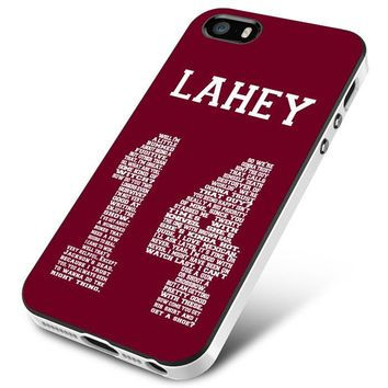TEEN WOLF LAHEY 1FOUR LACROSSE JERSEY iPhone 5 | 5S | 5SE Case Planetscase.com