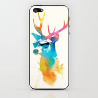 Sunny Stag iPhone & iPod Skin by Robert Farkas | Society6
