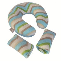 Chevron Stripe Headrest Travel Set 363744031 | Stroller Accessories | STROLLERS | Burlington Coat Factory