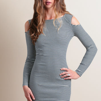 Can't Stop Me Striped Dress By MINKPINK
