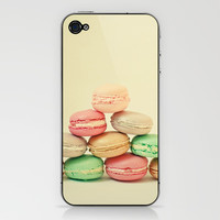French Macarons iPhone & iPod Skin by Cassia Beck