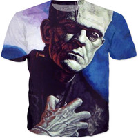 Classic Frankenstein Horror T-shirt