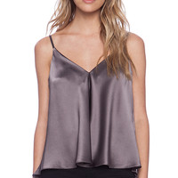Amanda Uprichard Ji Top in Taupe