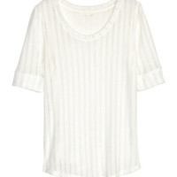 Pointelle Top - from H&M