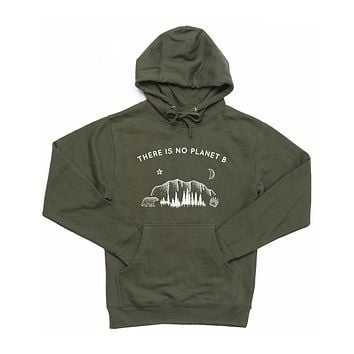 There Is No Planet B - Hoodie (without zip)