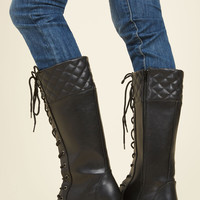 Quest Foot Forward Boot in Licorice | Mod Retro Vintage Boots | ModCloth.com