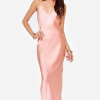 It Must Be Love Light Pink Maxi Dress