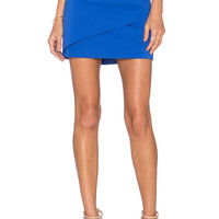 Finders Keepers Pendulum Skirt in Baja Blue