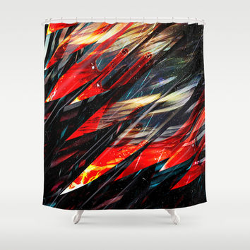 Blade runner Shower Curtain by HappyMelvin Graphicus