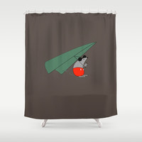 Hey Mickey, you don't look so fine Shower Curtain by lalainelim