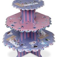 Alice in Wonderland Cupcake Stand and Cupcake Wraps