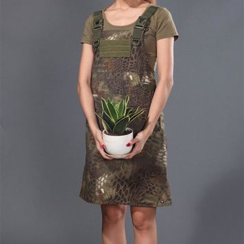 Mountain camouflage Ripstop Tactical Aprons for working Krypteck camouflage Military working Apron Man Tactical Aprons