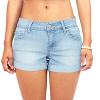 Soft Wash Low-Rise Shorts