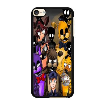 Five Nights At Freddys Fnaf And Friends iPod Touch 6 Case