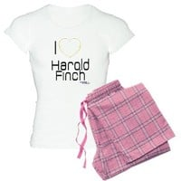 I Heart Harold Finch POI Women's Light Pajamas> I Heart Harold Finch POI> MORE PRODUCTS-CLICK HERE-GetYerGoat.com