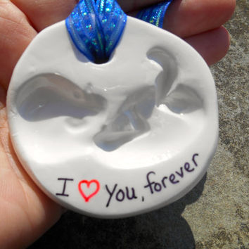 Clay Baby Memorial, Miscarriage, Clay Memorial Ornament, New Mother, Baby Gift, Pregnancy Gift, Polymer Clay Baby Ornament, Expectant Mother