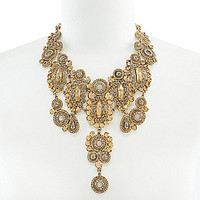Natasha Gretchen Bib Statement Necklace | Dillards.com