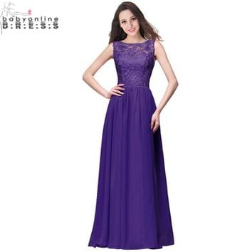 Robe Demoiselle D'honneur Real Image Purple Mint Green Navy Blue Lace Bridesmaid Dresses Long 2017 Vestido Madrinha Casamento