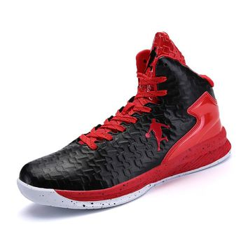 Women Men Shoes Brand Basketball Shoe Male Sneakers Purple Red Basketball Boots Couples Leather Shoes Sport Trianers