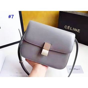Celine sells shopping single-shoulder bag fashionable and casual color #7