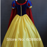 Disney Disneyland Princess Snow White Custom Made to Order Plus Size Cosplay Costume
