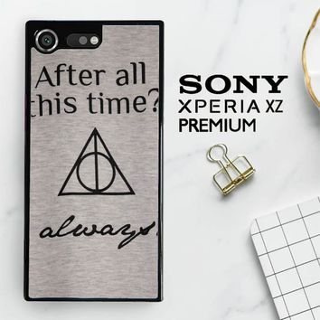 After All This Time Always Quote Harry Potter Sony Xperia XZ Premium Case