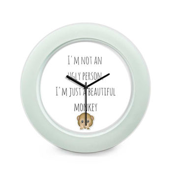 Beautiful Monkey - That's Me! Table Clock