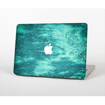 """The Grungy Teal Chipped Concrete Skin Set for the Apple MacBook Air 11"""""""