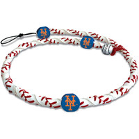 New York Mets Classic Frozen Rope Baseball Necklace