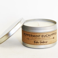 Peppermint Eucalyptus Candle