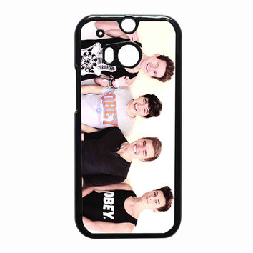 Jc Caylen Ricky Dillon Kian Lawley and Connor Franta 4ae17d9c-4452-441c-a529-acc94155876e for HTC One M8 case *RA*