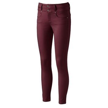 Tinseltown Double Stack Juniors' Colored Skinny Jeans, Size: