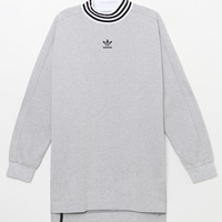 adidas Ribbed Mock Neck Long Sleeve T-Shirt at PacSun.com