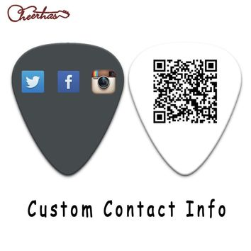 Custom personalized logo guitar pick plectrum