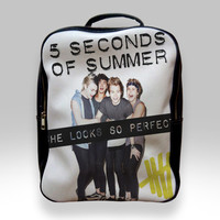 Backpack for Student - 5 Seconds of Summer She Looks So Perfect Bags