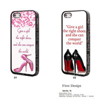 Marilyn Monroe and high-heeled shoes iPhone 5 case iPhone 5C Case iPhone 5S case, iPhone 4S Case, Samsung S3 S4 S5, Note 2 Note 3 - 19