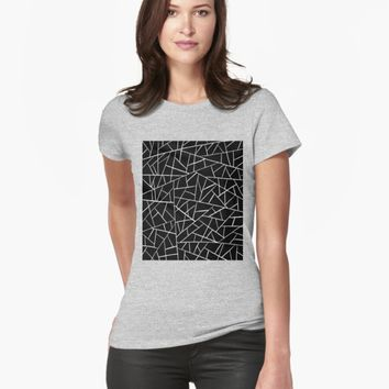 'Shattered Glass' T-shirt by VibrantVibe