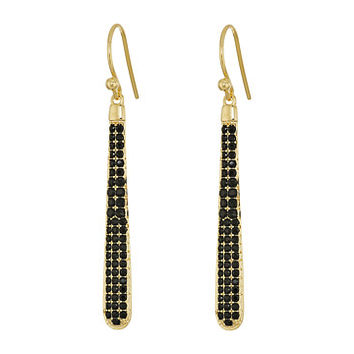 Kate Spade New York Shine On Pave Linear Earrings