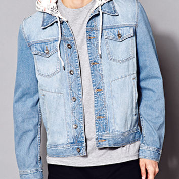 Fresh Hooded Denim Jacket