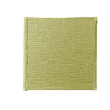"15"" Square Linen Braid Placemat S/4 