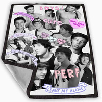 Cameron Dallas Photos Blanket for Kids Blanket, Fleece Blanket Cute and Awesome Blanket for your bedding, Blanket fleece **