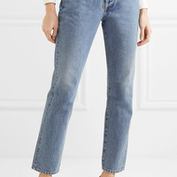 Goldsign - Benefit high-rise straight-leg jeans
